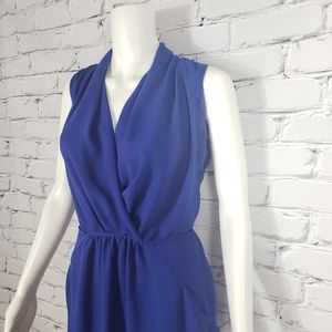 Aritzia Dresses - Wilfred Blue Sleeveless Shirt Dress